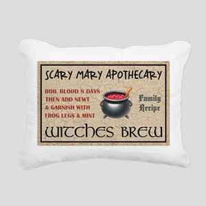 WITCHES BREW Rectangular Canvas Pillow