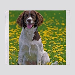 English Springer Spaniel Throw Blanket
