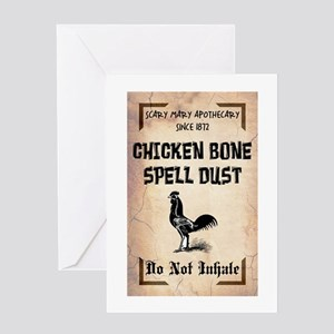 SPELL DUST Greeting Card
