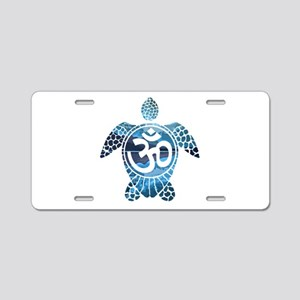 Ohm Turtle Aluminum License Plate