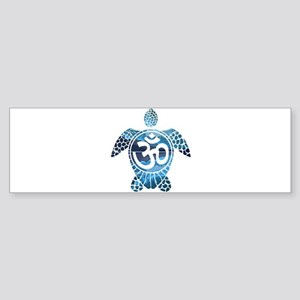 Ohm Turtle Bumper Sticker