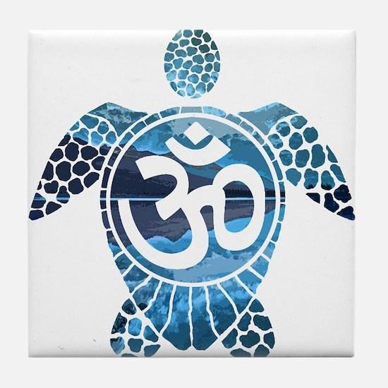 Ohm Turtle Tile Coaster