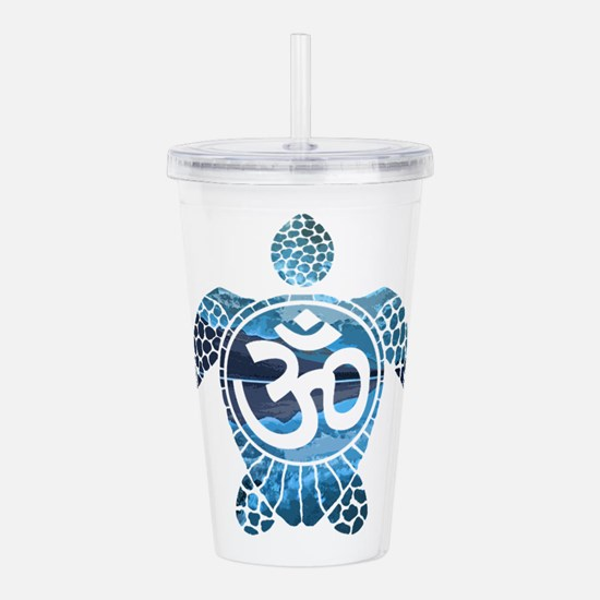 Ohm Turtle Acrylic Double-wall Tumbler