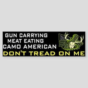 Don't Tread (bumper) Bumper Sticker