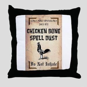SPELL DUST Throw Pillow