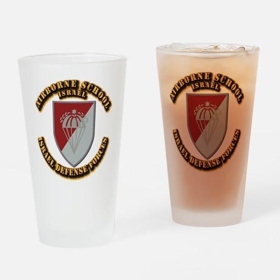 Airborne School Drinking Glass