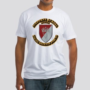 Airborne School Fitted T-Shirt