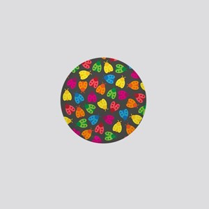 Lovely Ladybugs & Berries Mini Button