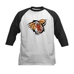 Winged Devil Tattoo Kids Baseball Jersey