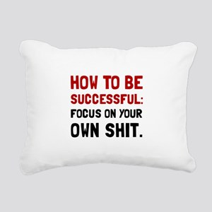 How To Be Successful Rectangular Canvas Pillow