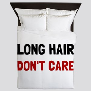 Long Hair Queen Duvet