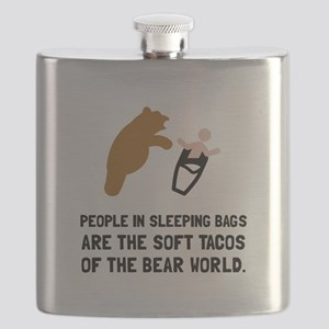 Soft Tacos Bear Flask