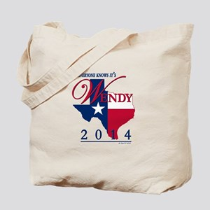 Wendy for Governor of Texas Tote Bag