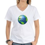 Make every day Earth Day Women's V-Neck T-Shirt