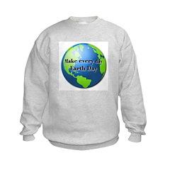 Make every day Earth Day Sweatshirt