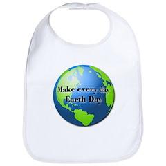 Make every day Earth Day Bib