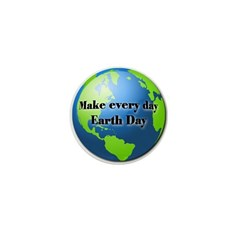Make every day Earth Day Mini Button