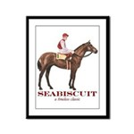 Seabiscuit Framed Panel Print