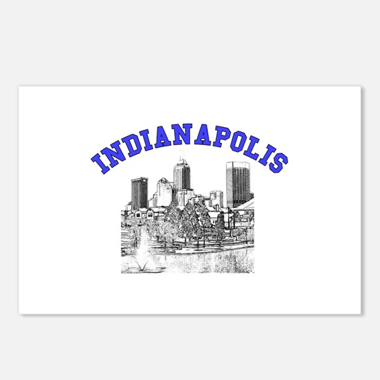 Indianapolis, Indiana Postcards (Package of 8)