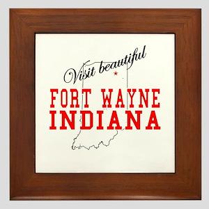 Visit Beautiful Fort Wayne, I Framed Tile
