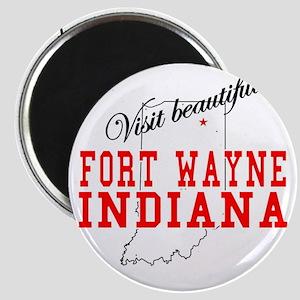 Visit Beautiful Fort Wayne, I Magnet