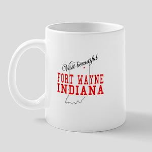 Visit Beautiful Fort Wayne, I Mug