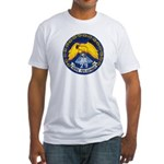 USS MOUNT HOOD Fitted T-Shirt