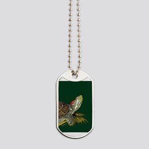 Lively Red Eared Slider Dog Tags