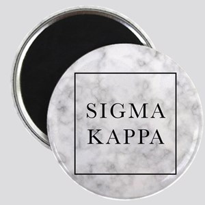 Sigma Kappa Marble Magnet
