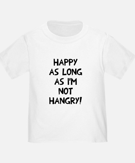 Happy as long as no hangry T