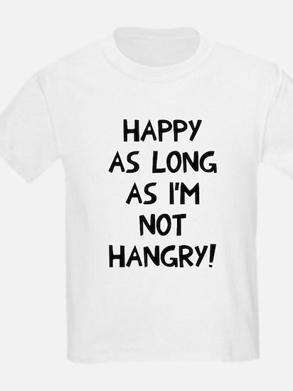 Happy as long as no hangry T-Shirt
