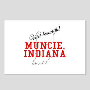 Visit Beautiful Muncie, India Postcards (Package o