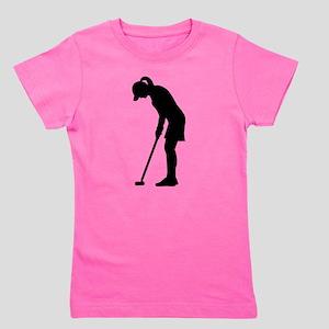 Golf woman girl T-Shirt