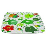 Watercolor Pop Art Bathmat