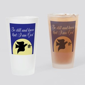 Be Still and Know Drinking Glass