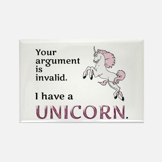 Unicorn Argument Magnets