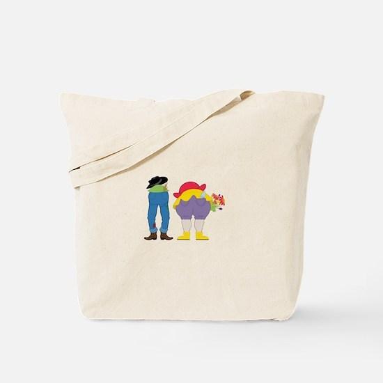 Gardening People Tote Bag
