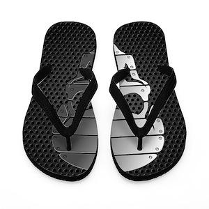 9ca3f5b54ad8e8 Gothic Flip Flops - CafePress