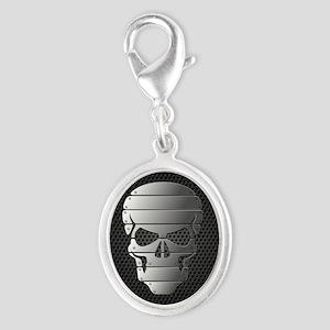Chrome Skull Charms