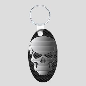 Chrome Skull Keychains