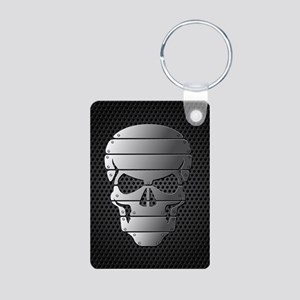 Chrome Skull Keychains