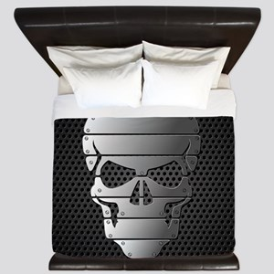 Chrome Skull King Duvet