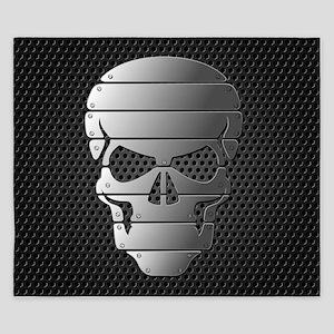 Chrome Skull King Duvet