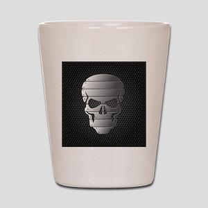 Chrome Skull Shot Glass