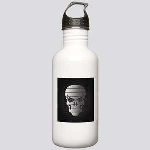 Chrome Skull Water Bottle