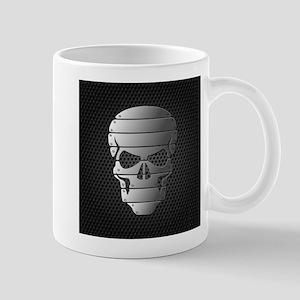 Chrome Skull Mugs