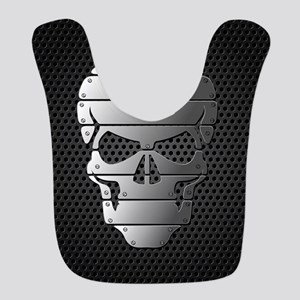Chrome Skull Bib