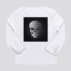 Chrome Skull Long Sleeve T-Shirt