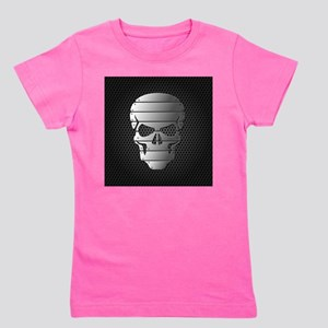 Chrome Skull Girl's Tee