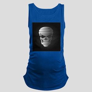 Chrome Skull Maternity Tank Top